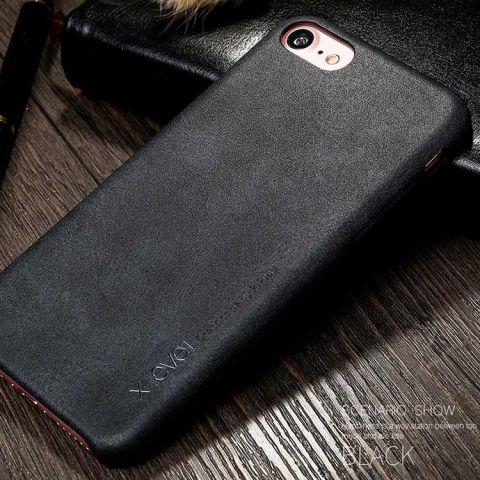 Чехол для iPhone 7/8 X-Level Vintage Case-Black