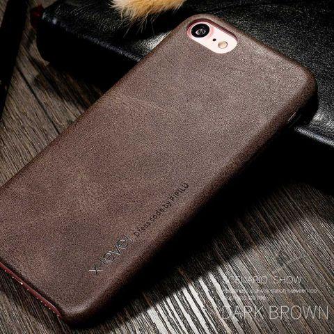 Чехол для iPhone 7/8 X-Level Vintage Case-Brown