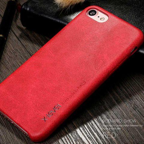 Чехол для iPhone 7/8 X-Level Vintage Case-Red