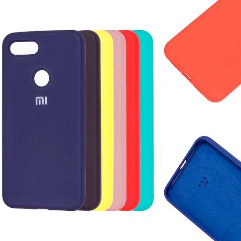 Чехол на Xiaomi Mi 8 Lite Silicone Full