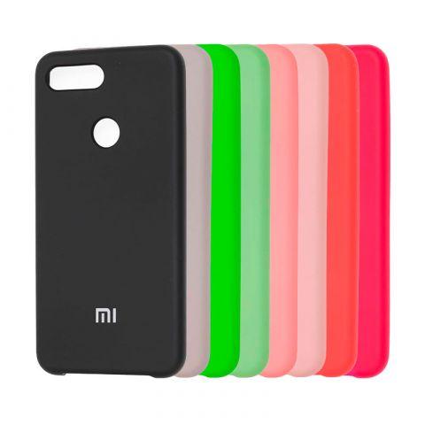 Чехол на Xiaomi Mi 8 Lite Soft Touch Silicone Cover
