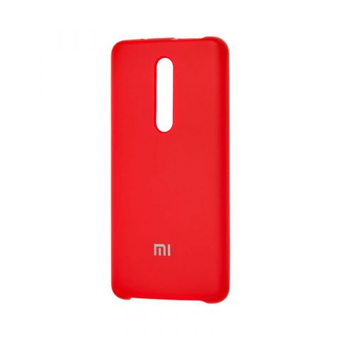 Чехол для Xiaomi Mi 9T (Redmi K20) Silicone Cover Soft Touch-Dark Red