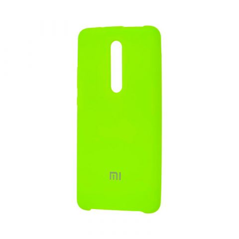 Чехол для Xiaomi Mi 9T (Redmi K20) Silicone Cover Soft Touch-Lime