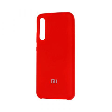 Чехол для Xiaomi Mi A3 (CC9e) Soft Touch Silicone Cover-Dark Red