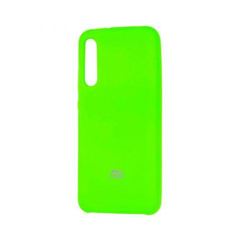 Чехол для Xiaomi Mi A3 (CC9e) Soft Touch Silicone Cover-Lime