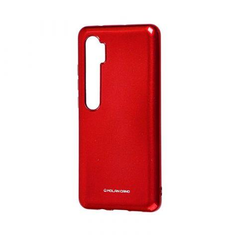 Чехол для Xiaomi Mi Note 10 / Note 10 Pro / Mi CC9 Pro Molan Cano глянец-Red