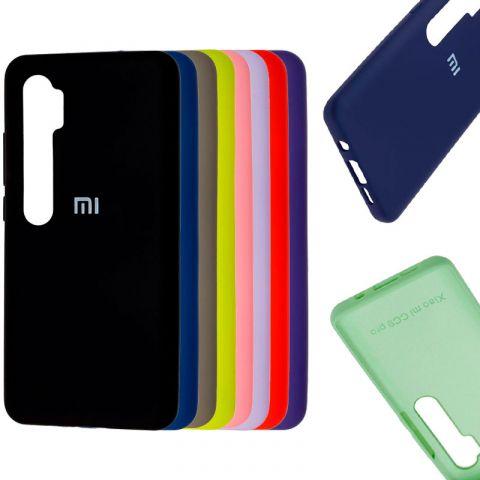 Чехол для Xiaomi Mi Note 10 / Note 10 Pro / Mi CC9 Pro Silicone Full