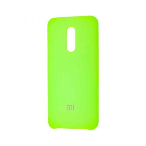 Чехол на Xiaomi Redmi 5 Plus Soft Touch Silicone Cover-Light Green