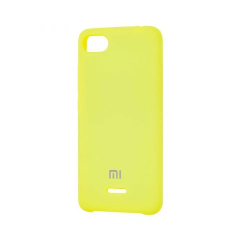 Чехол для Xiaomi Redmi 6A Soft Touch Silicone Cover-Pollen