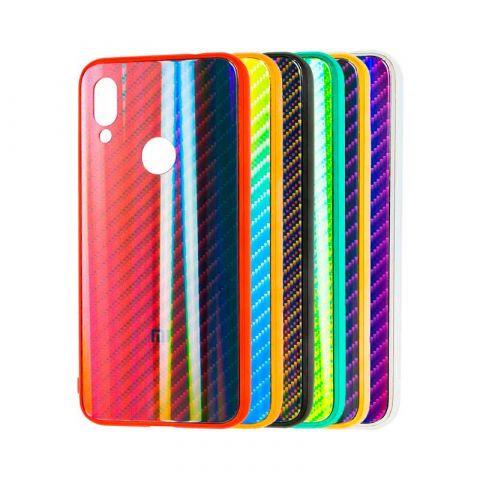 Чехол для Xiaomi Redmi 7 Carbon Gradient Hologram