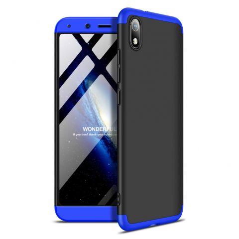 Чехол для Xiaomi Redmi 7A GKK LikGus 360-Black/Blue