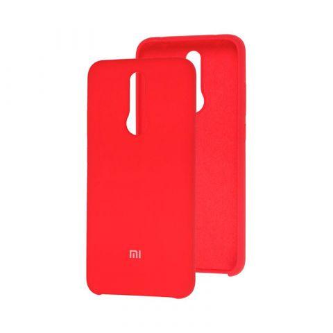 Чехол для Xiaomi Redmi 8 Soft Touch Silicone Cover-Marsala