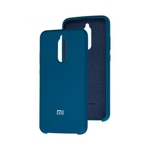 Чехол для Xiaomi Redmi 8 Soft Touch Silicone Cover-Ocean Blue