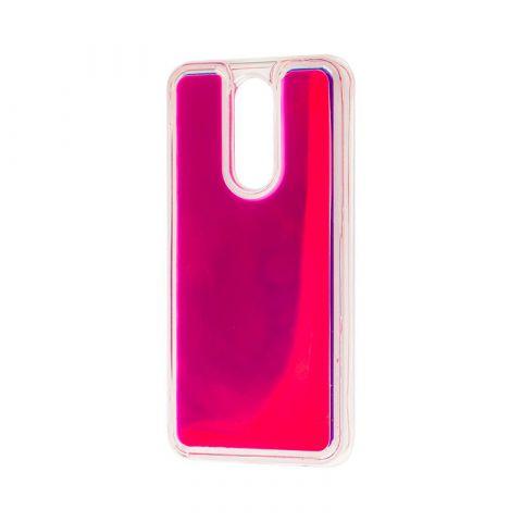 Чехол для Xiaomi Redmi 8 Жидкий Песок-Rose Red