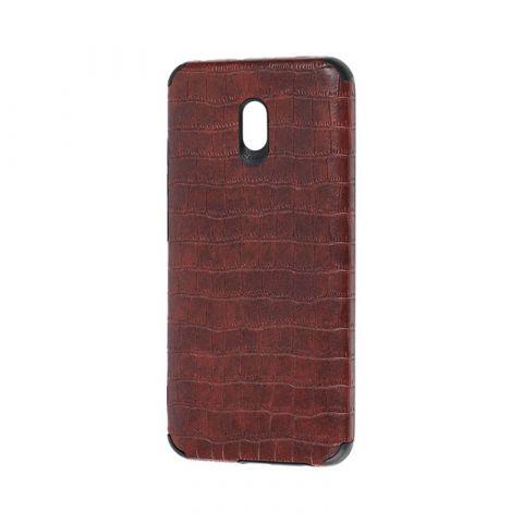 Чехол для Xiaomi Redmi 8A Epic Vivi Crocodile-Dark Brown