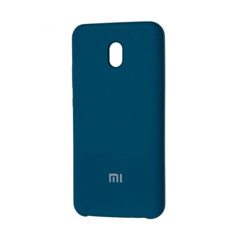 Чехол для Xiaomi Redmi 8A Soft Touch Silicone Cover-Ocean Blue