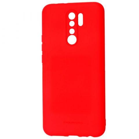 Чехол для Xiaomi Redmi 9 Molan Cano Jelly-Red