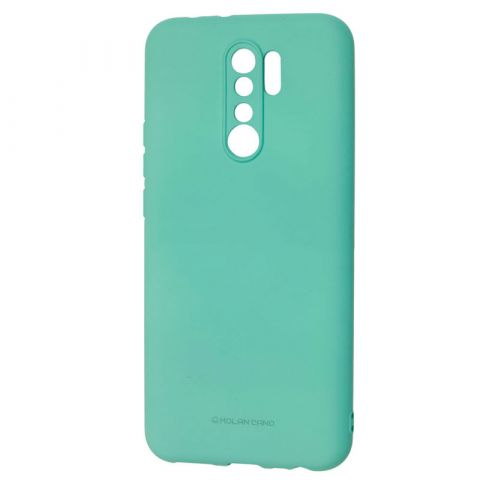 Чехол для Xiaomi Redmi 9 Molan Cano Jelly-Turquoise