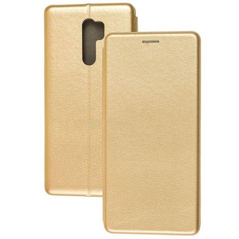 Чехол-книжка для Xiaomi Redmi 9 Premium-Gold