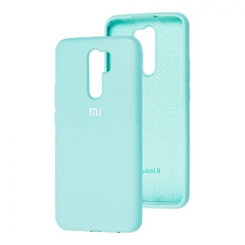 Силиконовый чехол для Xiaomi Redmi 9 Silicone Full-Turquoise