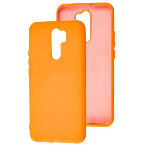 Чехол для Xiaomi Redmi 9 Silicone Full without Logo-Papaya