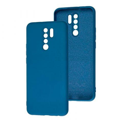 Чехол для Xiaomi Redmi 9 Wave Colorful-Blue