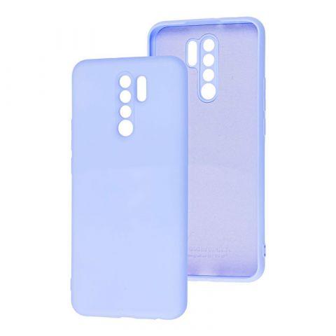 Чехол для Xiaomi Redmi 9 Wave Colorful-Light Violet