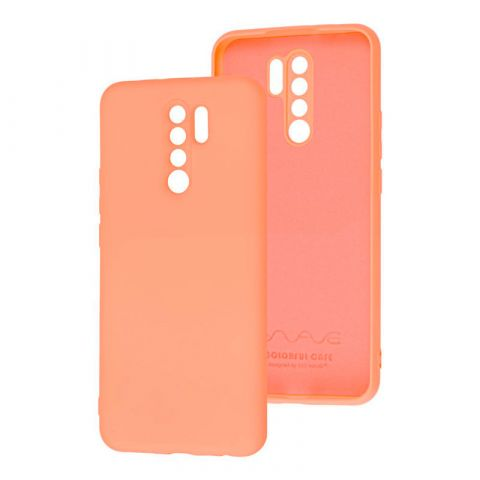 Чехол для Xiaomi Redmi 9 Wave Colorful-Peach