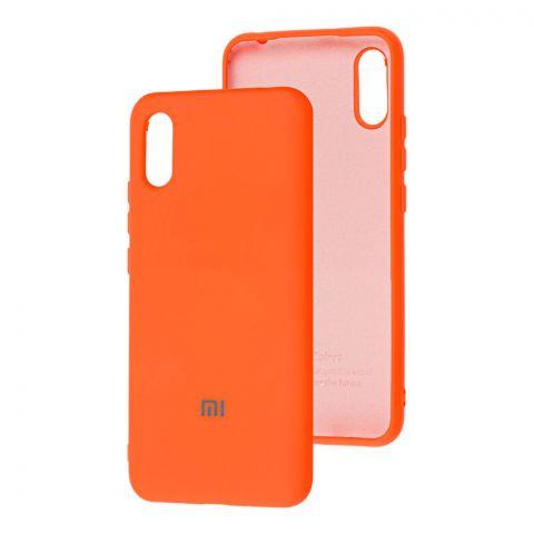 Силиконовый чехол для Xiaomi Redmi 9A Silicone Full-Orange