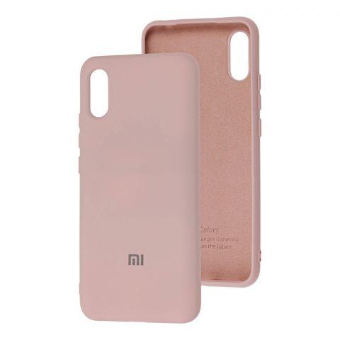 Силиконовый чехол для Xiaomi Redmi 9A Silicone Full-Pink Sand