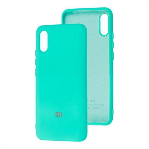 Силиконовый чехол для Xiaomi Redmi 9A Silicone Full-Turquoise