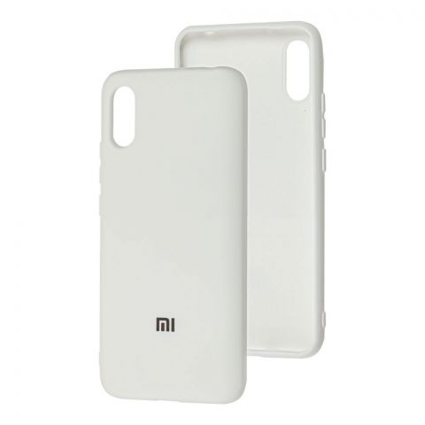 Силиконовый чехол для Xiaomi Redmi 9A Silicone Full-White