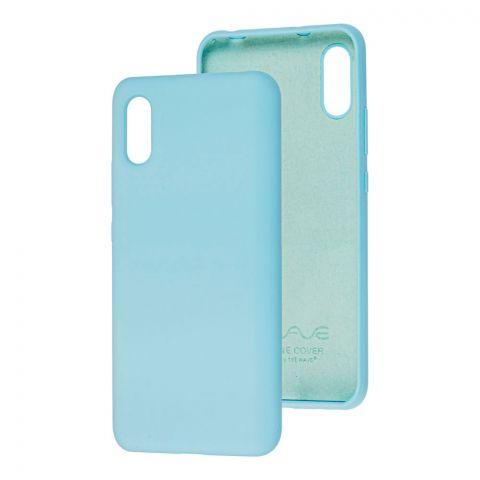 Чехол для Xiaomi Redmi 9A Wave Colorful-Light Blue
