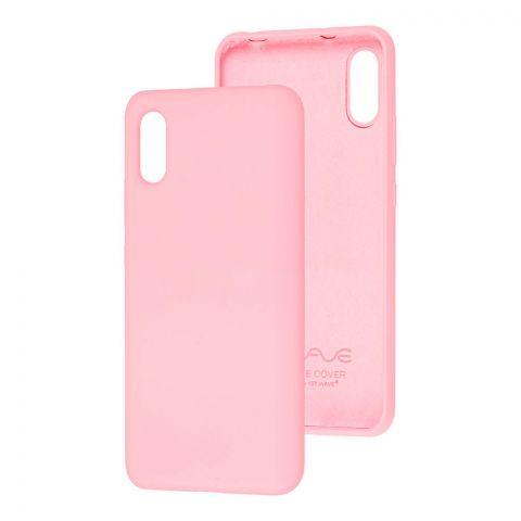 Чехол для Xiaomi Redmi 9A Wave Colorful-Light Pink