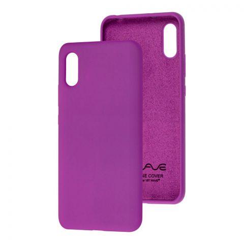Чехол для Xiaomi Redmi 9A Wave Colorful-Purple