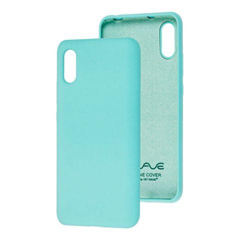 Чехол для Xiaomi Redmi 9A Wave Colorful-Turquoise