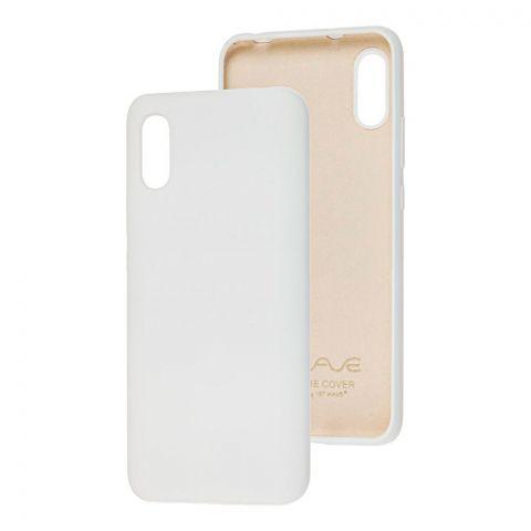 Чехол для Xiaomi Redmi 9A Wave Colorful-White