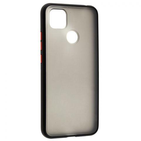 Чехол для Xiaomi Redmi 9C LikGus Maxshield-Black/Red