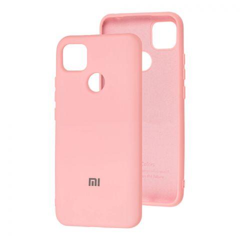 Силиконовый чехол для Xiaomi Redmi 9C Silicone Full-Light Pink