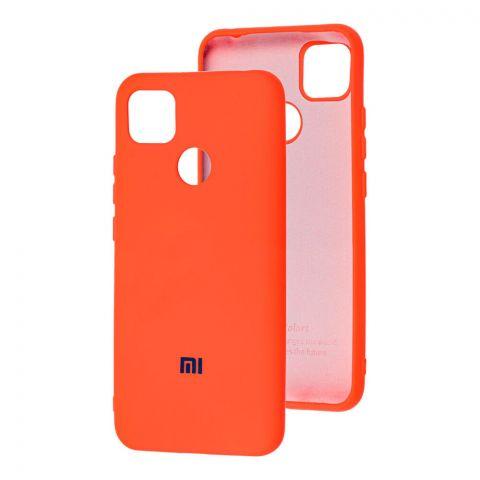 Силиконовый чехол для Xiaomi Redmi 9C Silicone Full-Orange