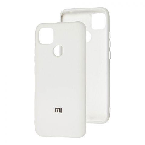 Силиконовый чехол для Xiaomi Redmi 9C Silicone Full-White