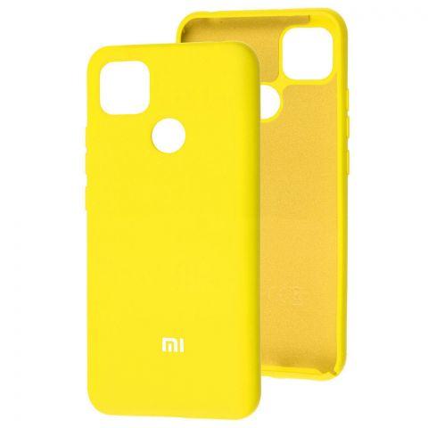 Силиконовый чехол для Xiaomi Redmi 9C Silicone Full-Yellow
