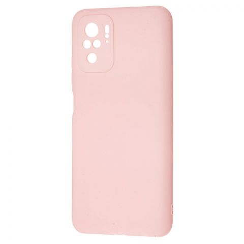 Силиконовый чехол для Xiaomi Redmi Note 10/10S SMTT-Light Pink