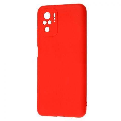 Силиконовый чехол для Xiaomi Redmi Note 10/10S SMTT-Red
