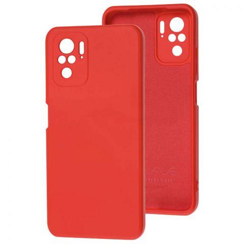 Силиконовый чехол для Xiaomi Redmi Note 10/10S Wave colorful-Camellia
