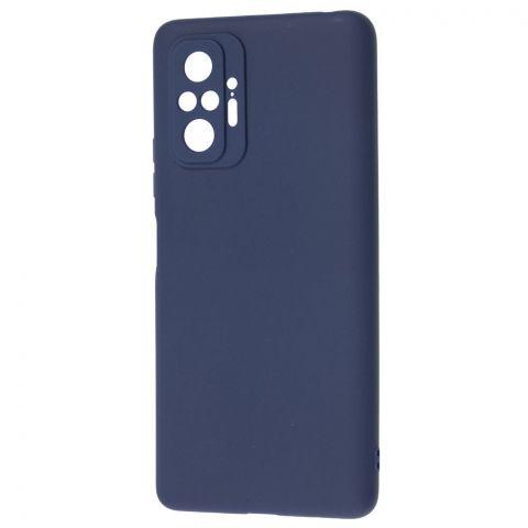 Силиконовый чехол для Xiaomi Redmi Note 10 Pro SMTT-Blue