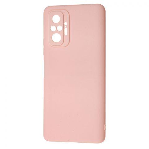 Силиконовый чехол для Xiaomi Redmi Note 10 Pro SMTT-Light Pink
