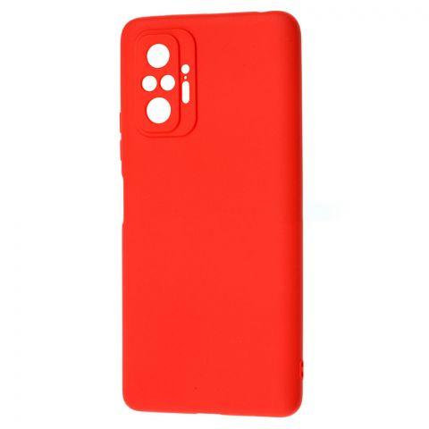 Силиконовый чехол для Xiaomi Redmi Note 10 Pro SMTT-Red