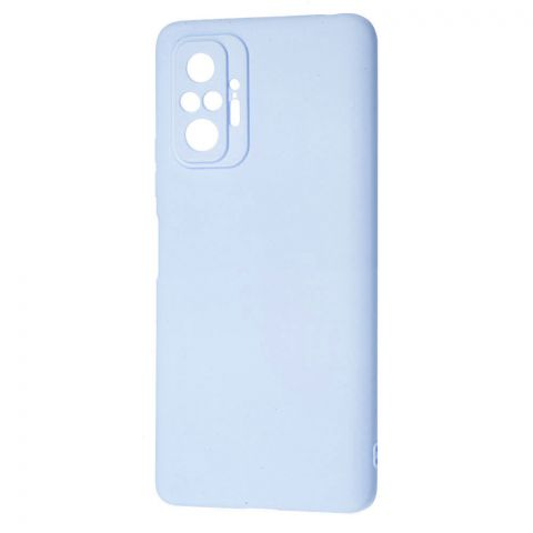 Силиконовый чехол для Xiaomi Redmi Note 10 Pro SMTT-Turquoise