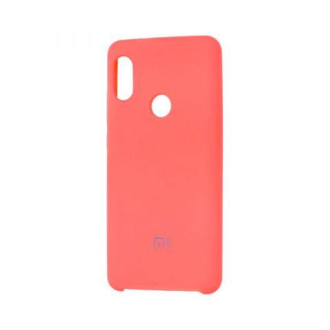 Чехол на Xiaomi Redmi Note 6 Pro Soft Touch Silicone Cover-Camellia